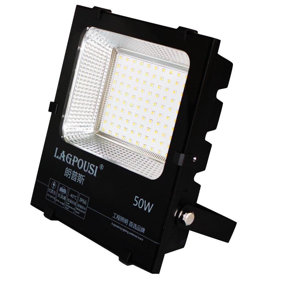 Lagpousi 50W ném đá ánh sáng đèn Philips smd2835led ac85 - 265v đèn quảng cáo bên ngoài sân cỏ không