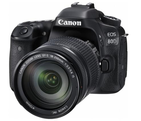 máy ảnh Canon (Canon) EOS 80D (EF-S 18-200mm f/3.5-5.6 IS) 2420 triệu điểm ảnh thập tự điều chỉnh ti