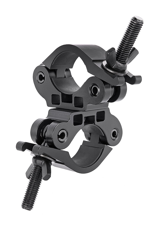 Bresser JM, 34 Clip hai nòng 50 mm, màu đen.