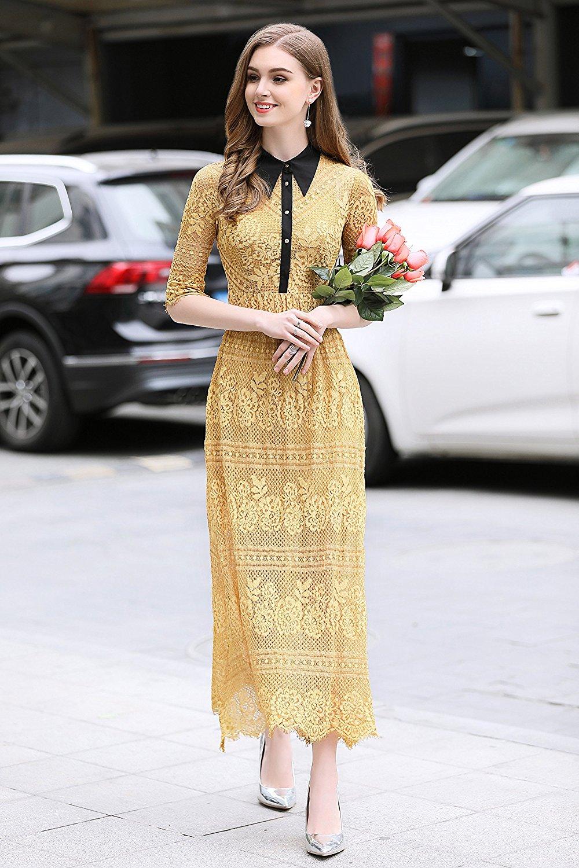Đầm  - phía Tây Seoul cao cấp mặc áo dài váy quần áo phụ nữ tiền khí đem bán tụ thu lưng váy váy áo
