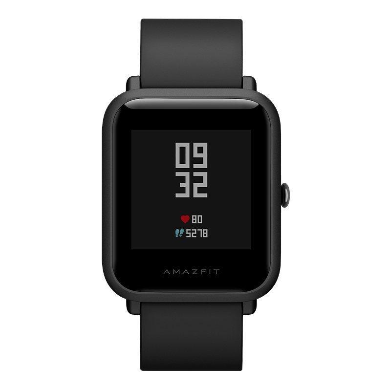 Amazfit mét. Động tuổi trẻ Edition thạch đen (đồng hồ thông minh đồng hồ vận động nhịp tim / ngủ /GP