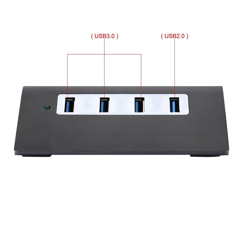 Dòng dữ liệu 4 cổng USB hub USB, 3 căn cứ Hub mang xách tay cổng USB và thẻ nhớ SD. / TF 3 dòng dữ l