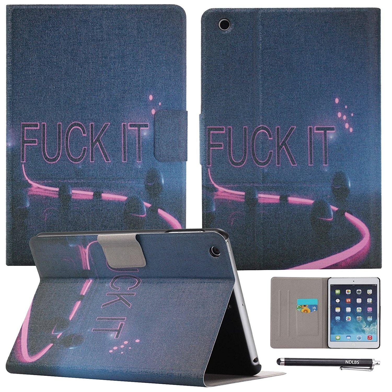 Phụ kiện máy tính bảng  IPad iPad Mini mini bảo vệ bộ bảo vệ bộ ndlbs da tổng hợp tự động đánh thức