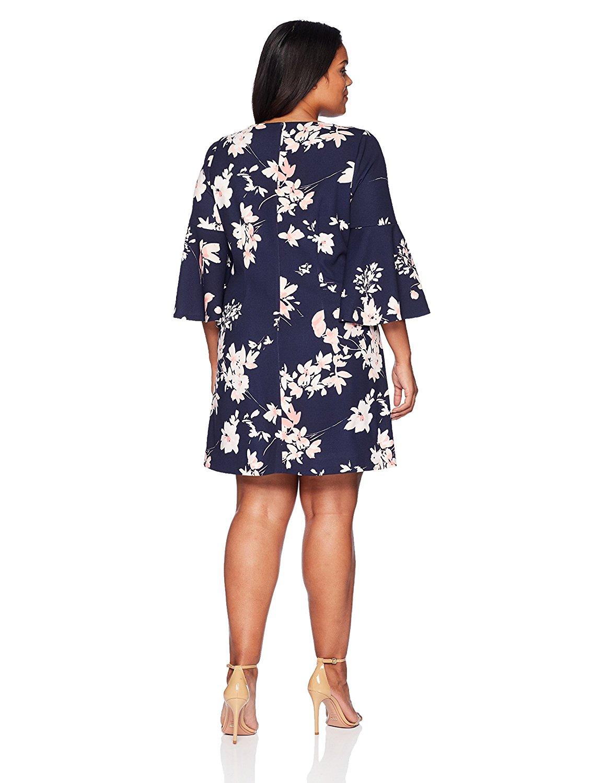 Đầm  Cô ELIZA J tăng mét hoặc là một chiếc váy ống tay áo thẳng