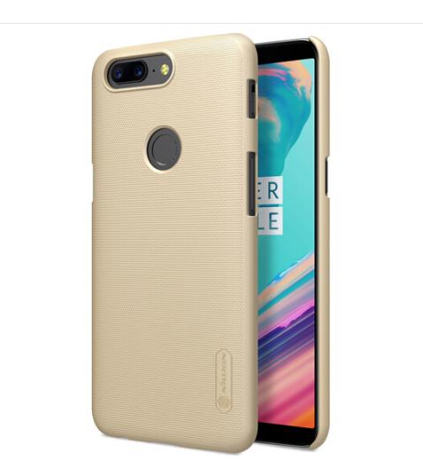 NILLKIN (NILLKIN) một cộng 5T bảo vệ vỏ điện thoại / bảo vệ bộ / điện thoại bộ màu vàng.