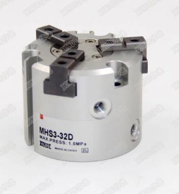 SMC loại khí nén khí ba móng vuốt, ngón tay lanh MHS3-16D 20D 25D 32D 40D 50D 63 MHS3-125D