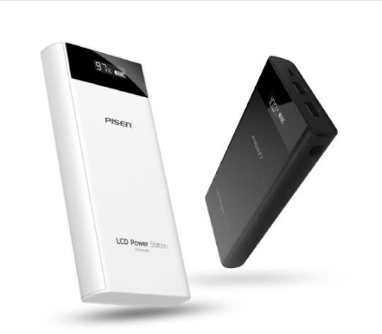 PISEN /Pisen sạc điện LCD kho báu, màn hình tinh thể lỏng chuyển động 20.000 ma điện công suất lớn g