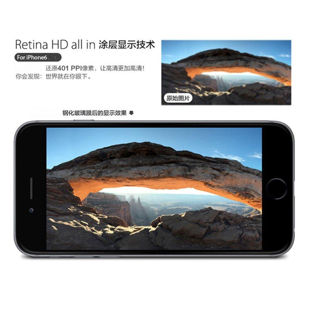 D.Vordingborg D. 2 táo 6 iphone6s thuỷ tinh công nghiệp phim iPhone6 /6 kính chống đạn. Màng màng b