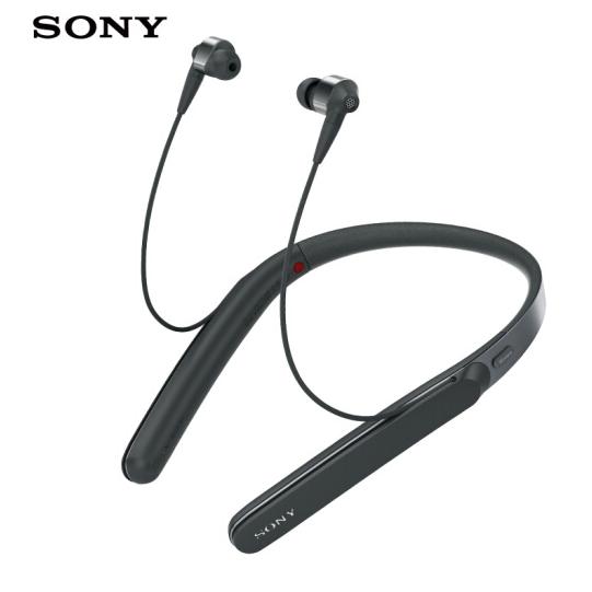 SONY Sony (SONY) WI-1000X Hi-Res cổ kiểu tai nghe Bluetooth không dây treo máy nghe lọt tai đen tai