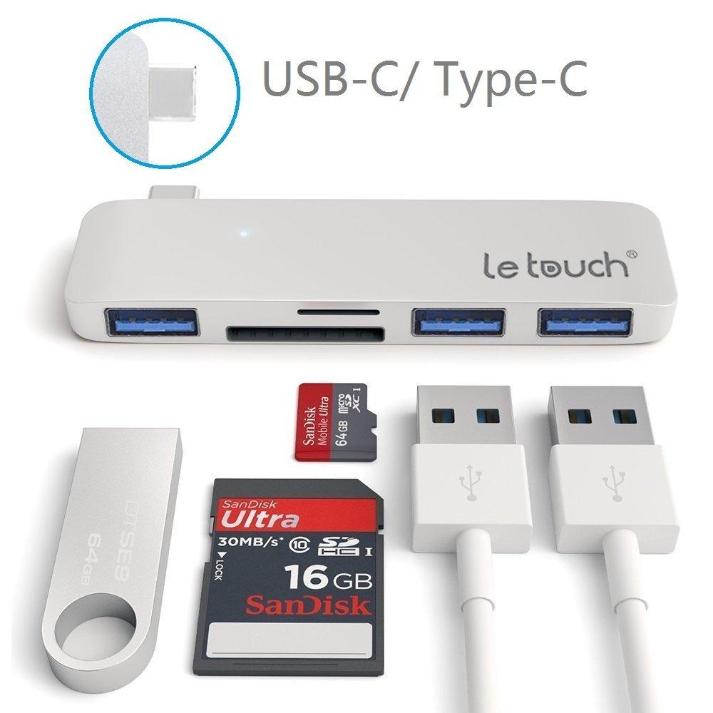 Phụ kiện máy tính bảng  Letouch laptop điện thoại di động USB / 1 Type-C chuyển đổi, mở rộng căn cứ