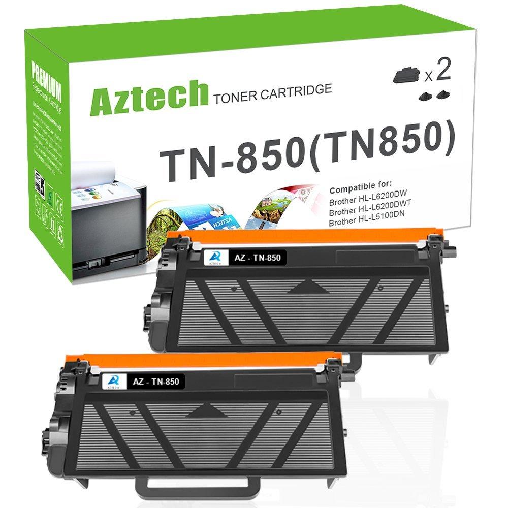 Aztech 2 gói 8000 trang đen tương thích với sản lượng cao tn820 áp dụng cho BROTHER hll6200dw tn850