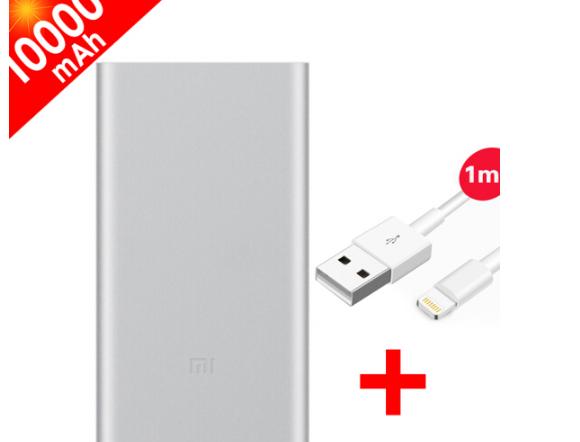 MI So - mi (mi) so - mi, chuyển 2 thế hệ điện sạc bảo 10.000 ma USB nhanh hai chiều công suất lớn sạ