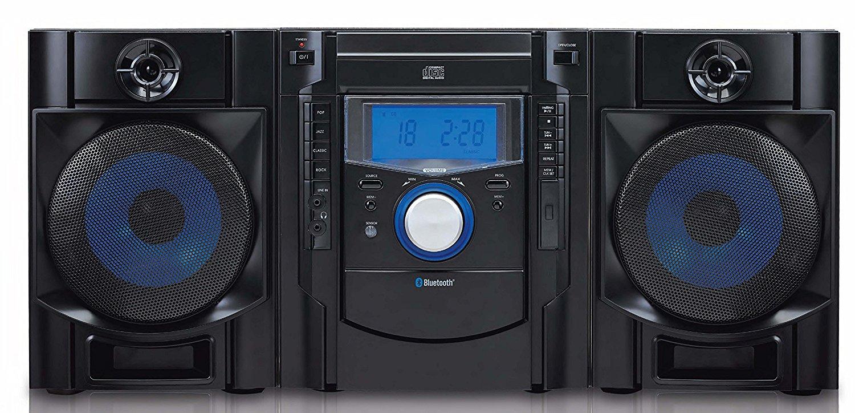sylvania    Công ty srcd2731bt CD mini trình đưa Bluetooth & Radio (đen)