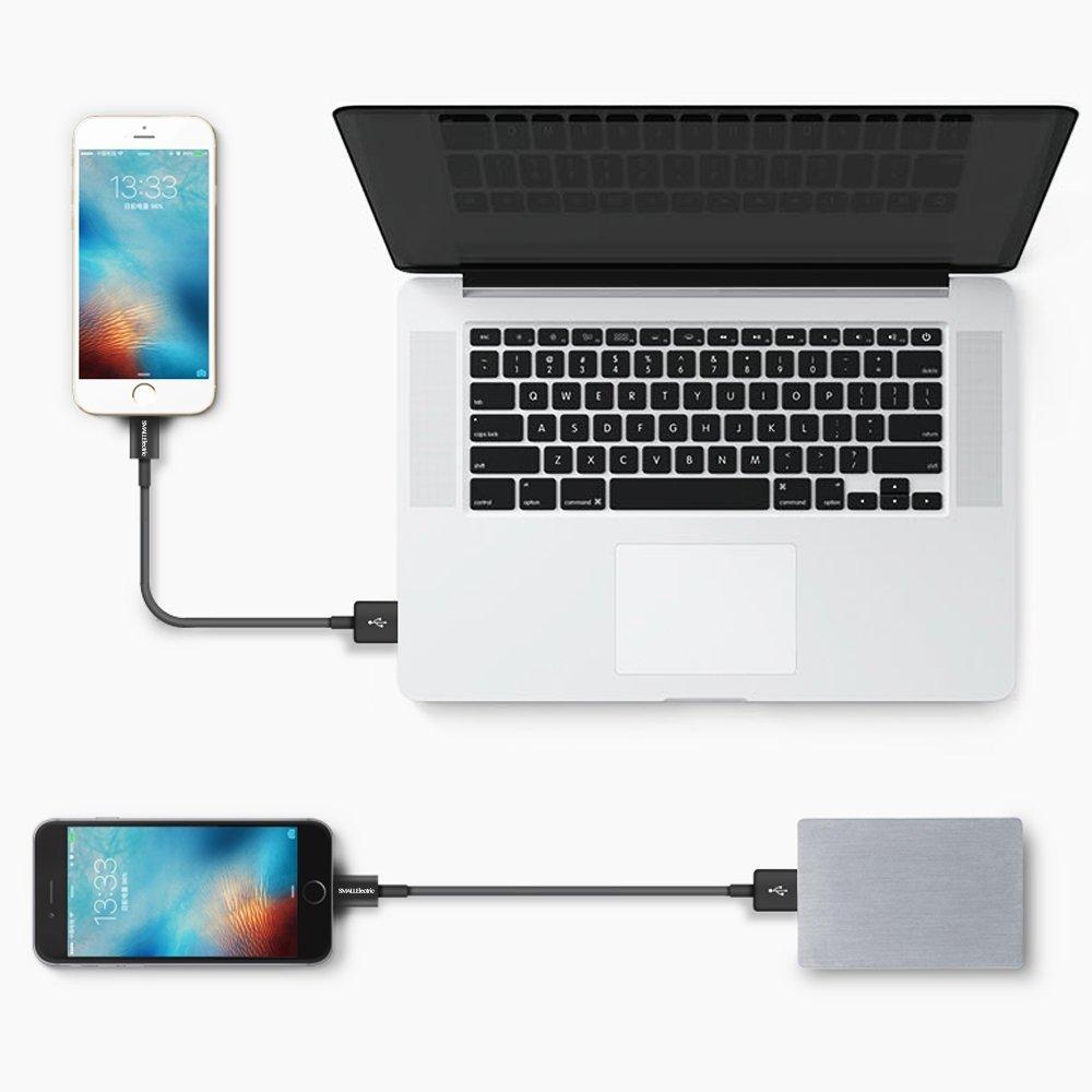 Dòng dữ liệu Sấm sét dữ liệu gói nhỏ dây sạc USB và đồng bộ sạc iPhone của Apple iPhone 6 dây có thể
