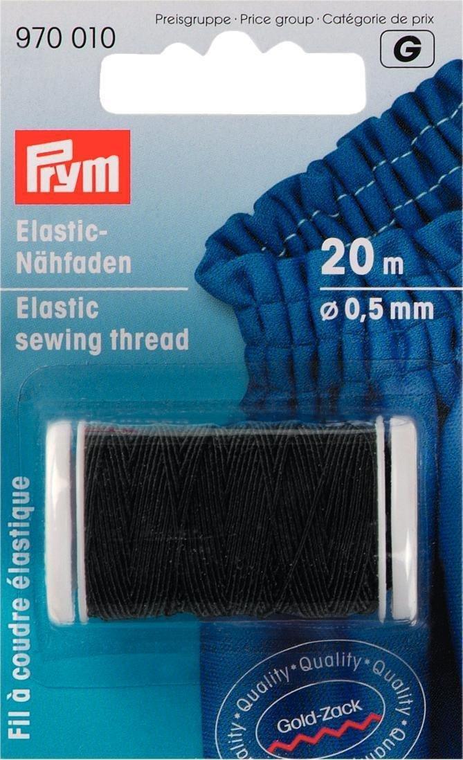 Chỉ may   Nên khâu dây đàn hồi 20 mét, 0.5 mm, màu nâu.