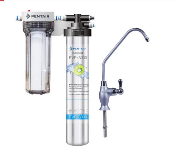 Everpure (Everpure) sạch lọc nước nhà độc lập cực mạnh ức thẳng ẩm máy lọc giữ 5 khoáng EVP-3000 phi