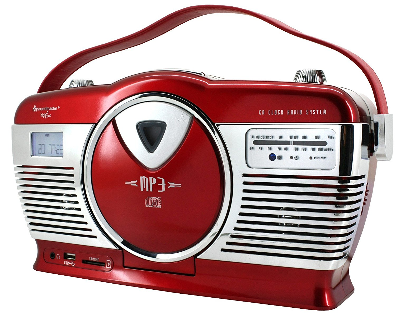 Soundmaster / CD / MP3 USB radio nhiều màu sắc rcd1350 Vintage
