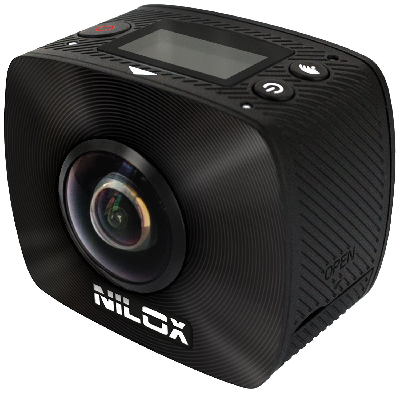 Nilox Hành động nilox cam EVO 4 K 4 K +, máy quay, rạp chiếu phim, 25 khung hình, 16 MP, đen.