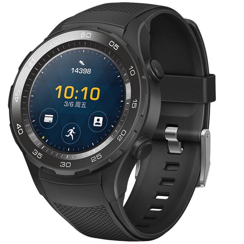 HUAWEI Huawei WATCH 2 thế hệ thứ 2 môn thể thao đồng hồ thông minh Bluetooth Edition (tinh thể cacbo