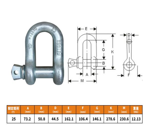 BUBUNIU trừ thẻ hình vòm móc treo D - type cường độ cao an toàn (U - Treo tai lắp ghép phụ kiện) đặt