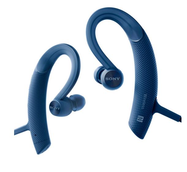 Sony (SONY) MDR-XB80BS phong trào chống thấm nước. Tai nghe Bluetooth (màu xanh).