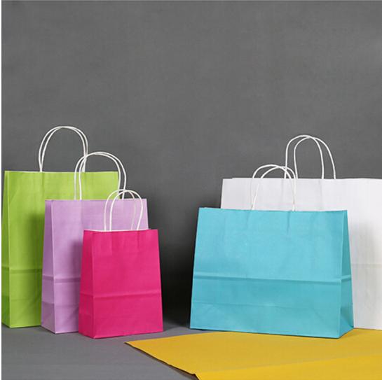 Túi đồ vật có cái túi da tay Monogatari túi đồ trong túi đồ trang trí làm túi quà túi giấy gói túi q