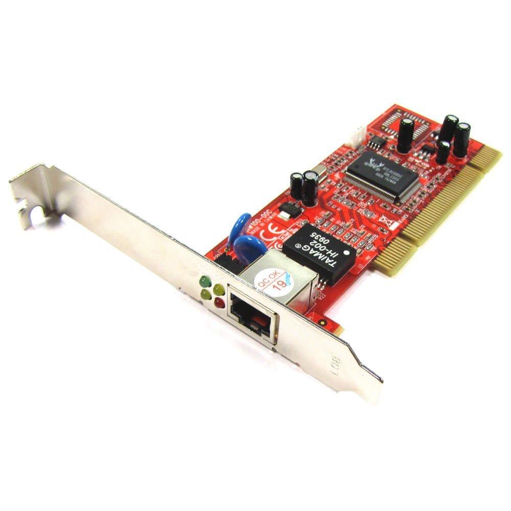 Cablematic PCI Card mạng Ethernet 10 / 100 / căn cứ 1000 - TX (% 1 x RJ45)