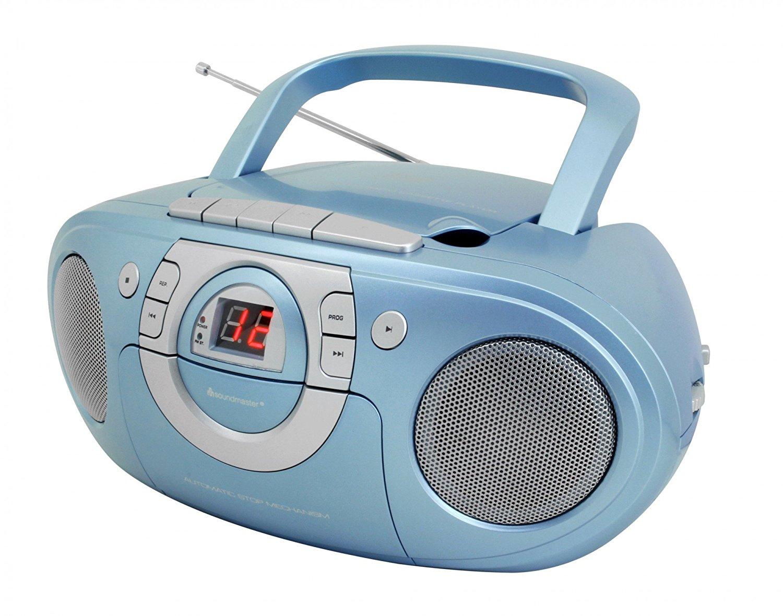 Soundmaster scd5100 radio băng, đưa CD player màu xanh, màu sắc khác nhau.