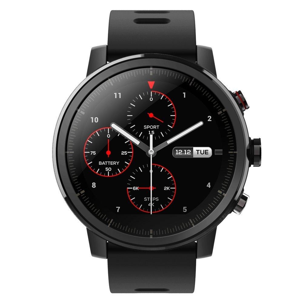 Amazfit Stratos thể thao đồng hồ thông minh đen GPS a1619)