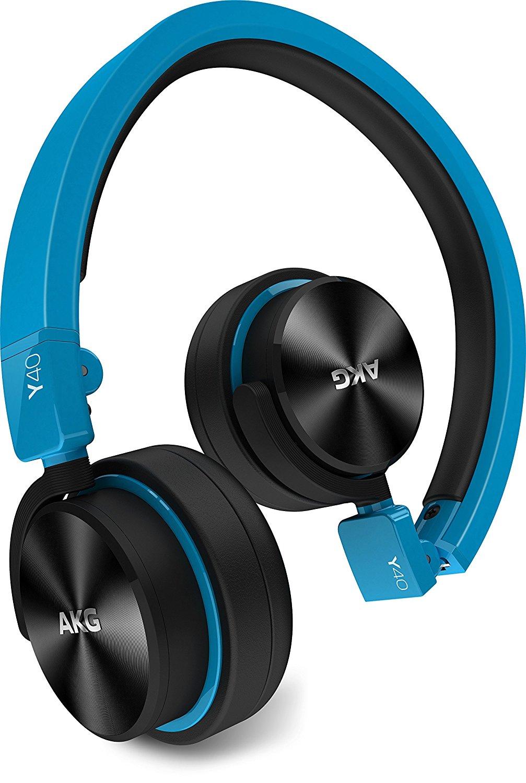 AKG Y40 đóng loại loại tai nghe / Portable Y40BLU xanh.