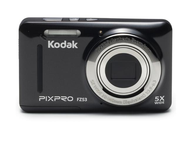 Kodak Máy ảnh kỹ thuật số, Koda (Kodak) FZ53 xách tay máy ảnh kỹ thuật số đen (1615 triệu điểm ảnh 2