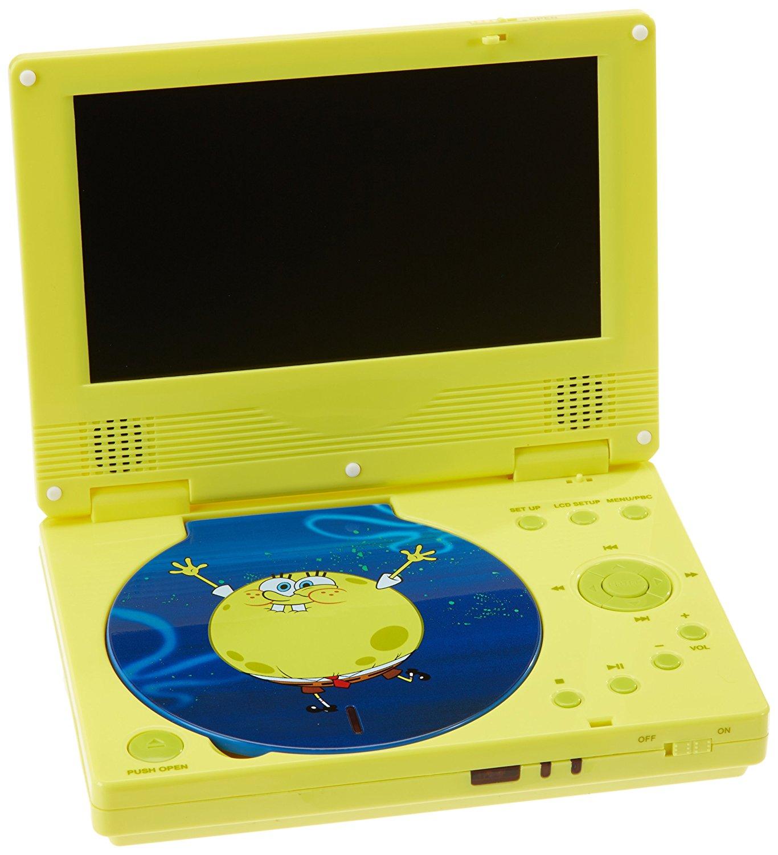Unbekannt     Linmark sbpdvd0902 – Portable DVD player SpongeBob SquarePants
