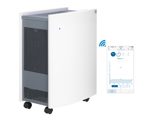 Blueair (Blueair) không khí thông minh điều khiển từ xa máy lọc App thực hiện nhiều mục dữ liệu thôn