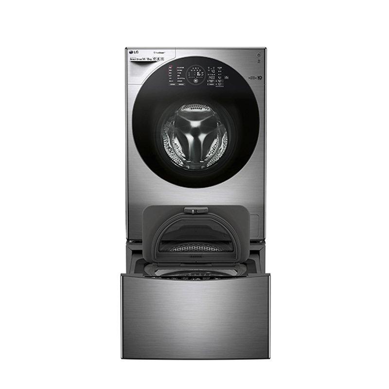 LG máy giặt WDRH657C7HW (carbon Kim ngân) 14 kg đem sấy khô có chức năng tự động hoàn toàn trống máy