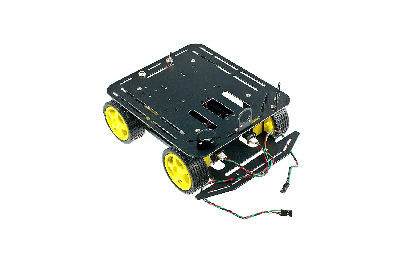 DFRobot sản phẩm mang 2 đường bộ mã hoá nền A4WD bốn bánh xe