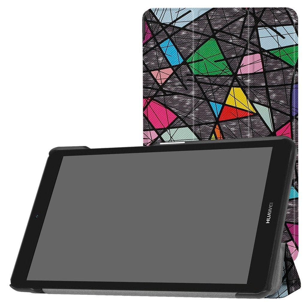 Phụ kiện máy tính bảng  MAMA Mouth siêu da vỏ không đứng thẳng được áp MediaPad T3 Huawei 8 inch máy