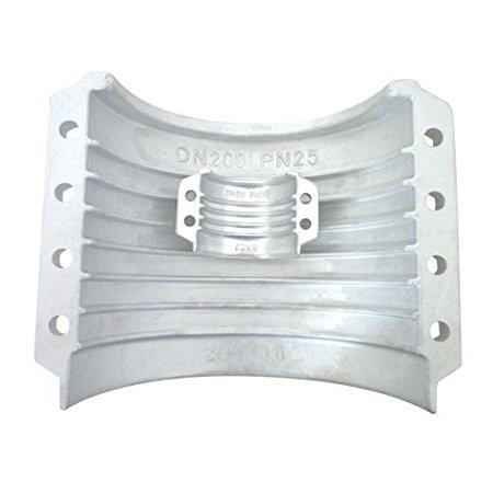 SME Hợp kim nhôm Laval ống din2817 clip en14420 - 3 ống kẹp ống thẻ đai (200x12)
