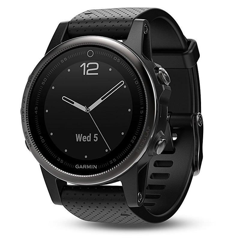 Garmin giai Minh fenix5s Sapphire của phiên bản tiếng Anh của gương dòng đồng hồ đo nhịp tim GPS Qua