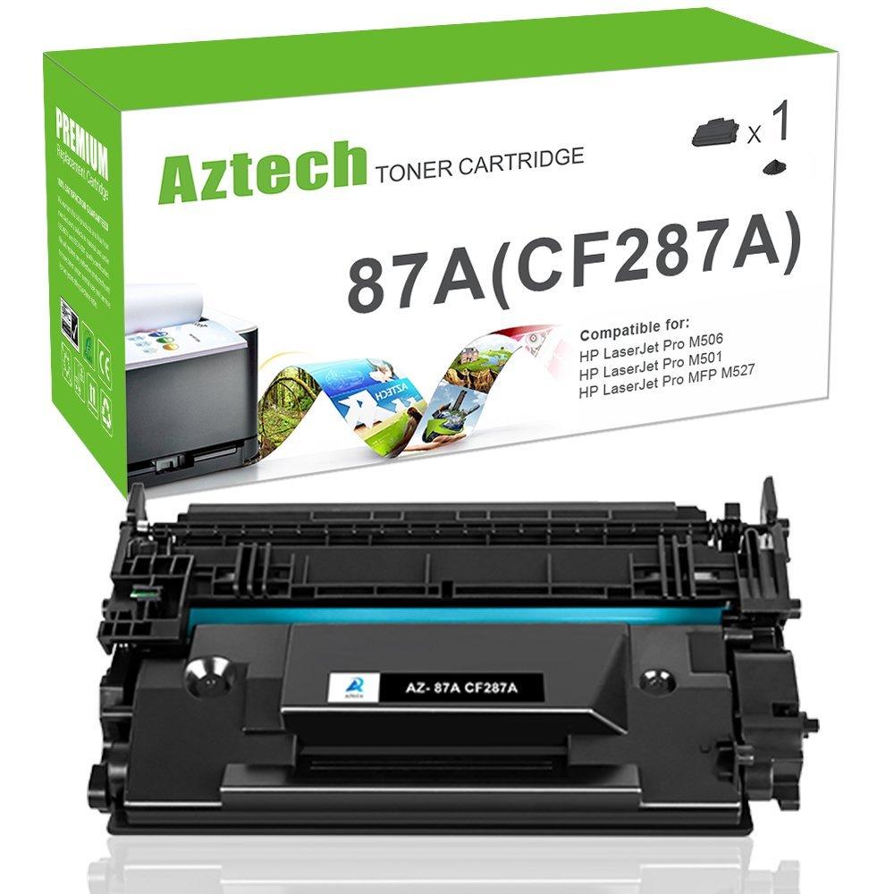 Aztech 2 gói sản lượng 9000 trang đen 87 A cf287 thay thế giới này áp dụng cho LaserJet 506 n M506 E