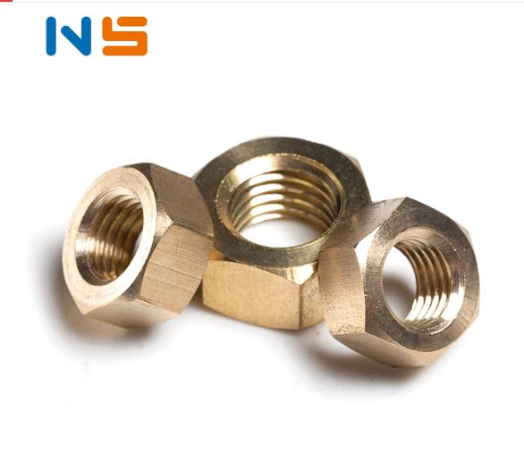 NS NS/M2-M20 toàn series / đồng quả / đồng đai ốc / đồng sáu góc Nut / đồng thau đai ốc / 6 góc hạt