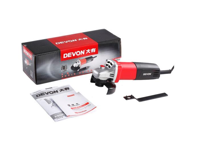 Devon CDevonó sừng lớn (DEVON) 100mm cối xay 2816-5 máy mài cắt góc máy gia dụng với đánh bóng đá mà