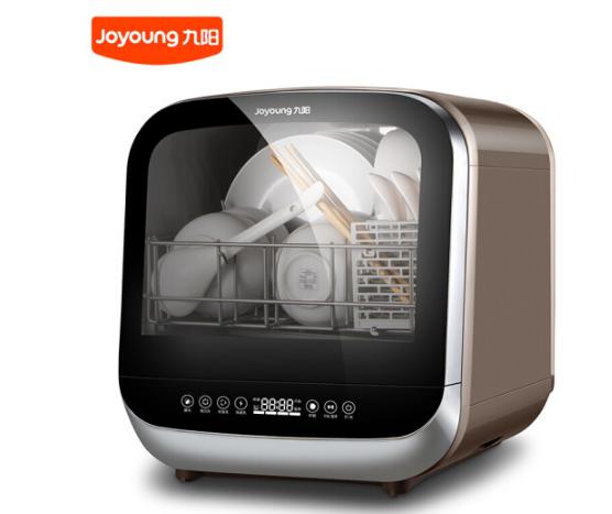 Joyoung Chín Yang (Joyoung) miễn cài đặt nhà máy rửa chén thông minh tự động hoàn toàn khô. chính ph