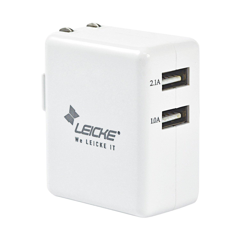 Đức Leicke có chức năng sạc pin sạc điện thoại di động USB adapter sạc cắm bảng điện 5V 2A áp dụng c