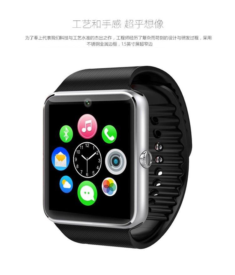 Rorsche đồng hồ thông minh điện thoại di động có thể ủng hộ độc lập có chức năng có thể cắm điện tho