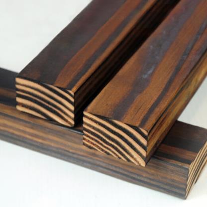 BAIQIANG ướp sàn gỗ mỹ linh sam Douglas cacbua ván gỗ củi gỗ ngoài trời bên vườn 30*50 keel