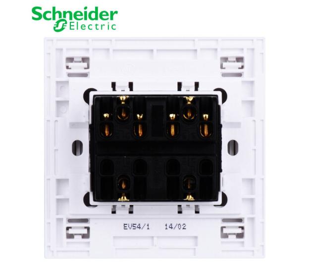 Schneider Electric Electric Thiết bị điện tử (Schneider chỉnh ánh sáng trắng Electric). socket 4 bức