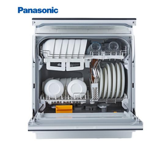 Panasonic Panasonic (Panasonic) 6 bộ máy rửa chén rửa bát 80 độ bóng tự động hoàn toàn độc lập kiểu