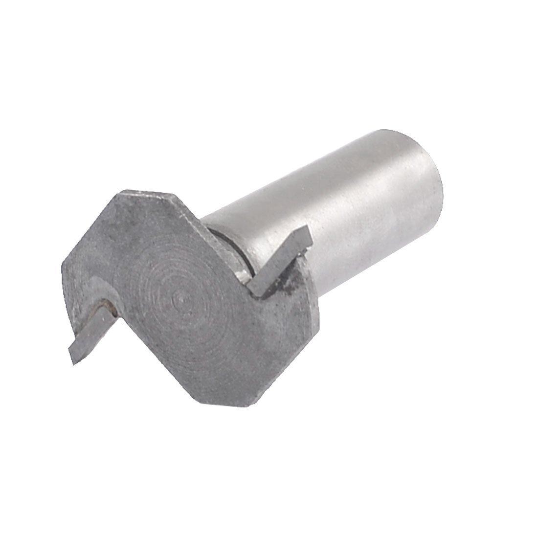 Sourcingmap        Cho 0.32 cm dưới trục Bính T - rãnh undercut máy cắt thay thế 1 / 4 inch / 25.4 c