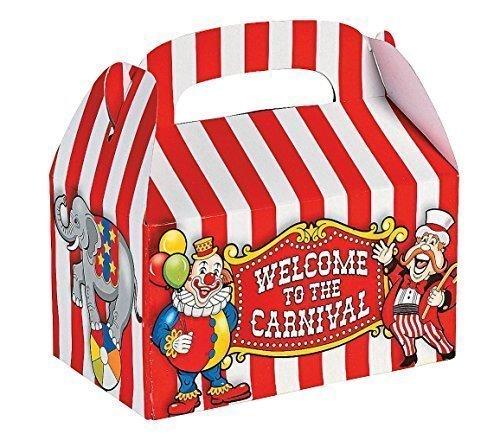 Fun EXPRESS Under the Great áo BIG trống hộp kẹo mừng tiệc linh kiện (1 gói 12)