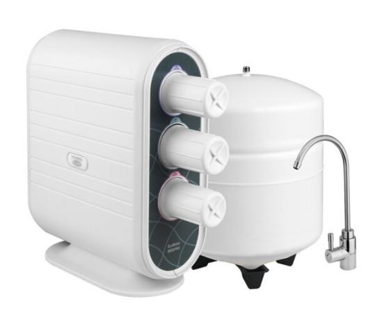 ECOWATER khẩu (ECOWATER) 800SPRO máy chống thấm nước lọc RO trong bếp nhà máy lọc nước uống sạch thẳ